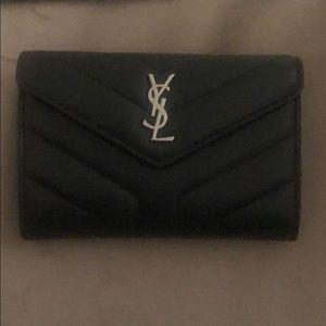 YSL small Lou Lou envelope wallet!